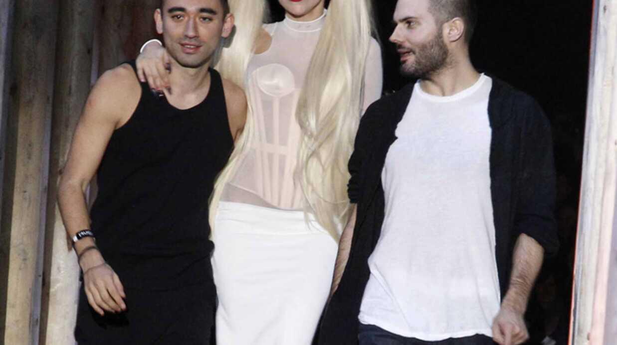 Lady Gaga a défilé pour Thierry Mugler