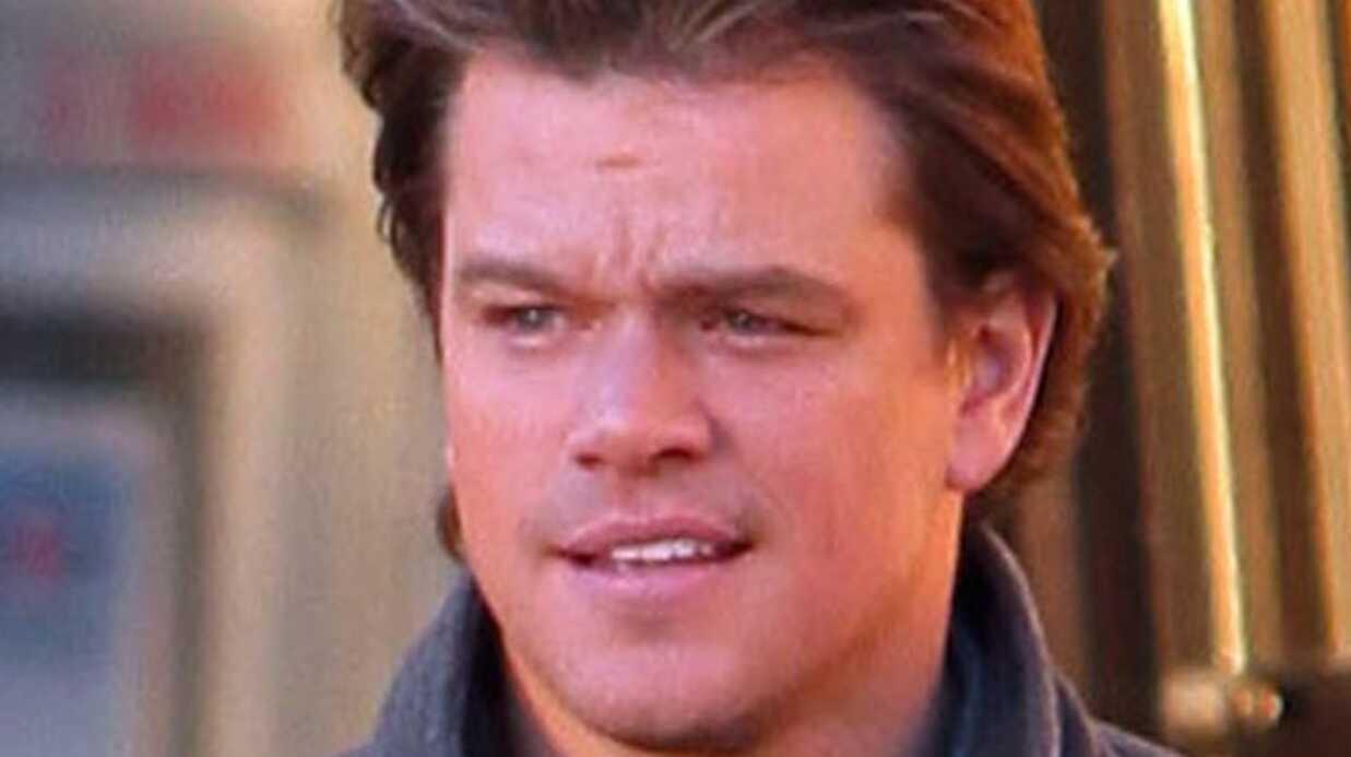 Matt Damon: sa carte de crédit refusée, c'est le scandale!