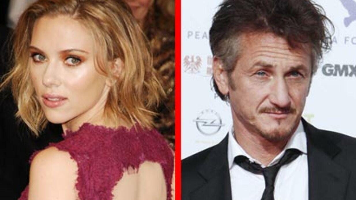 Scarlett Johansson et Sean Penn: dîner en amoureux