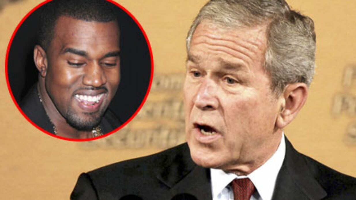 George W. Bush traumatisé par Kanye West