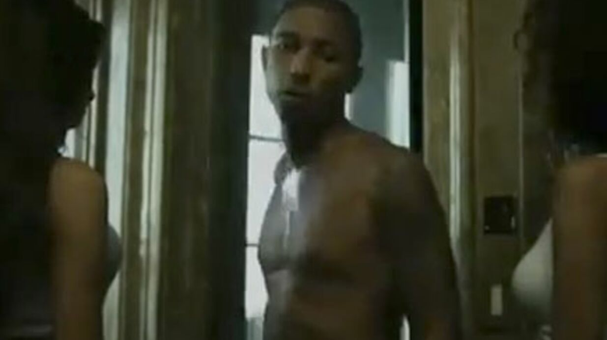 VIDEO Pharrell Williams: son strip-tease ultra sexy