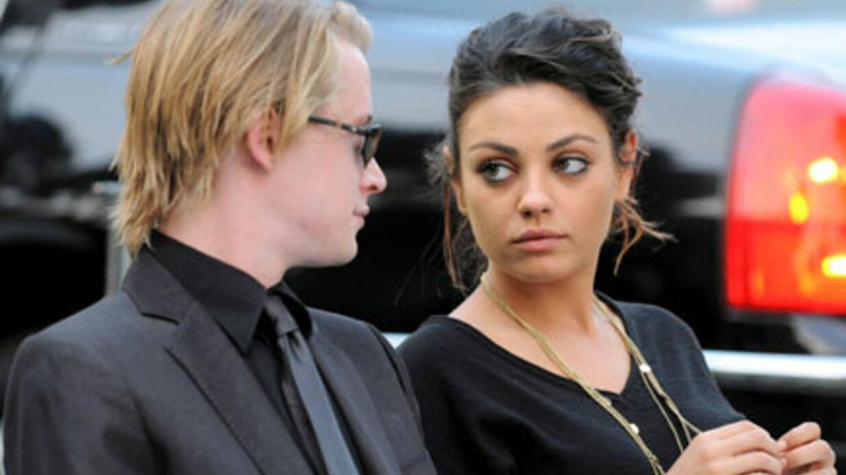 Macaulay Culkin et Mila Kunis ont rompu