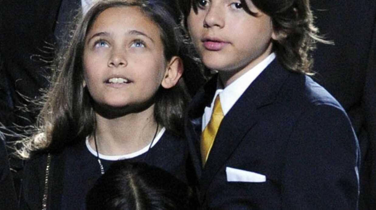 Grammy Awards: un discours des enfants de Michael Jackson
