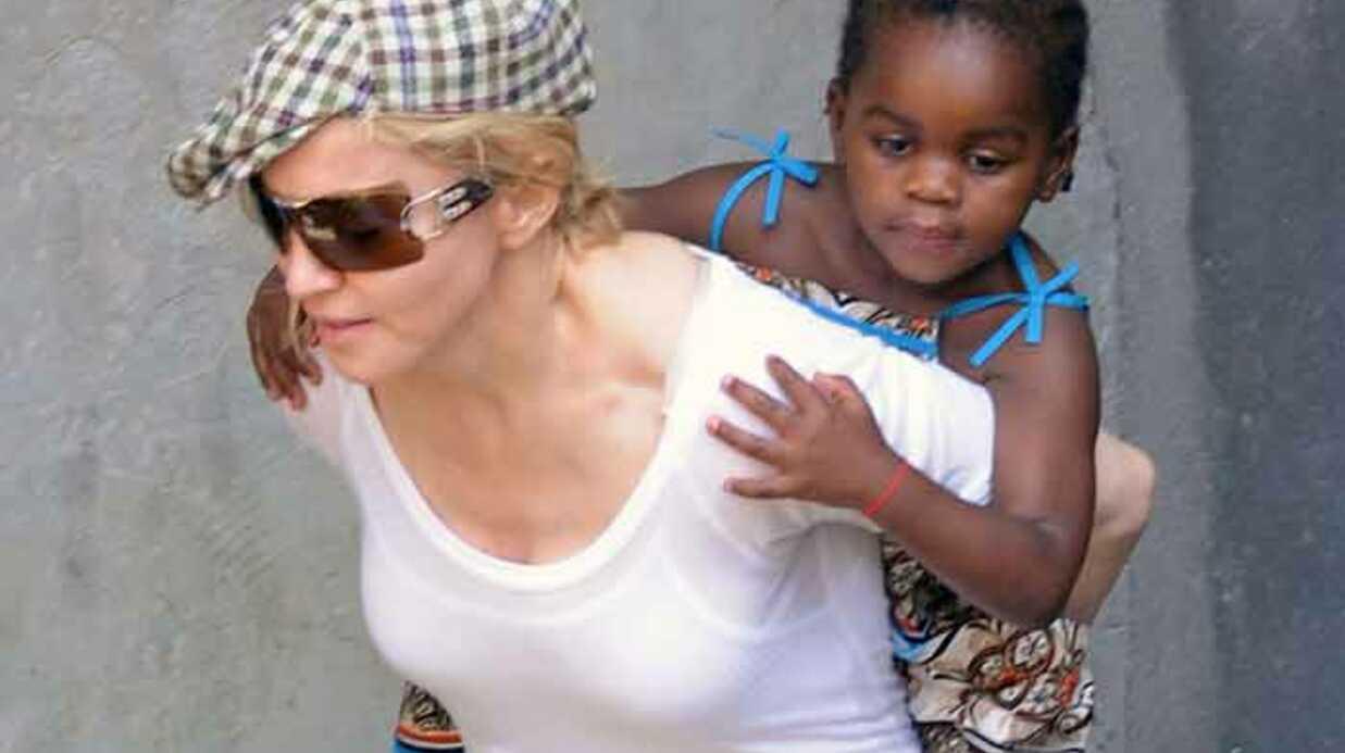Madonna et Mercy en Israël