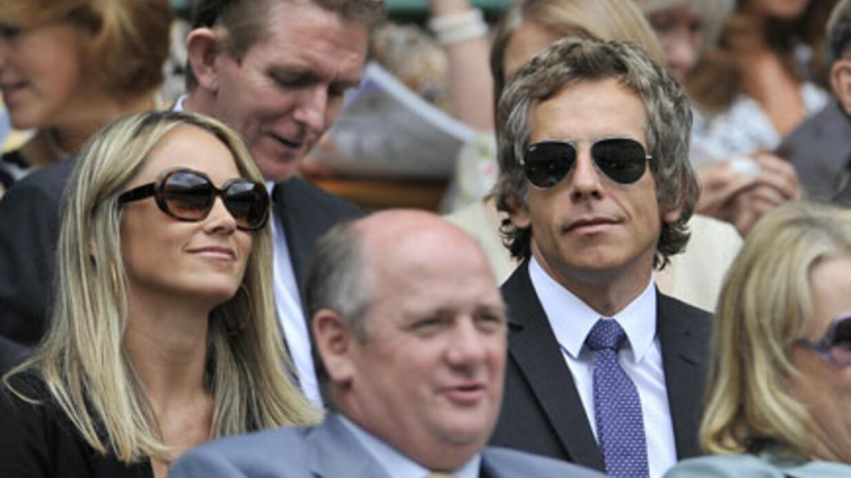 Ben Stiller en amou­reux à Wimble­don