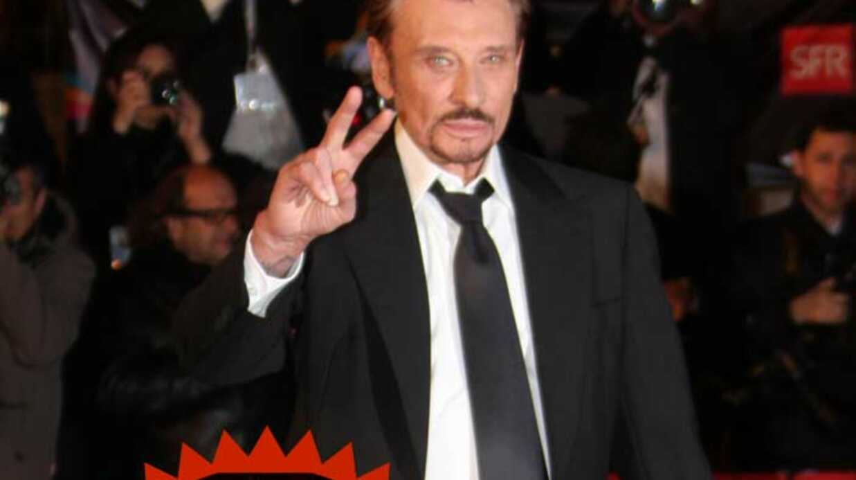 Johnny Hally­day Croqué par son fils