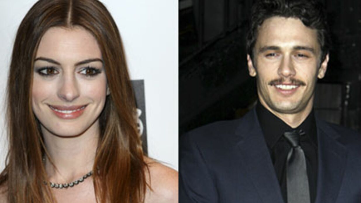 Oscars 2011 : Anne Hatha­way et James Franco à l'ani­ma­tion