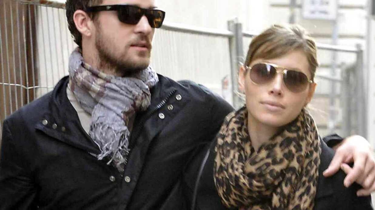 Justin Timberlake et Jessica Biel amoureux à Rome