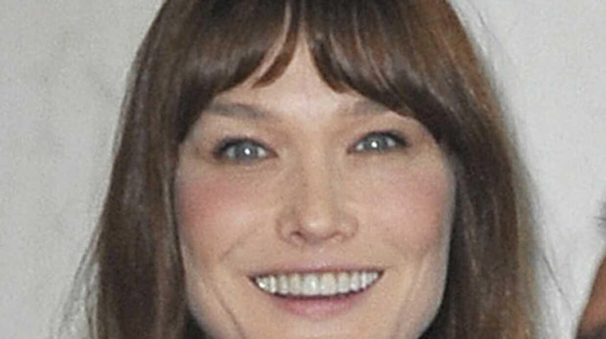 Carla Bruni: sa nouvelle coupe de cheveux