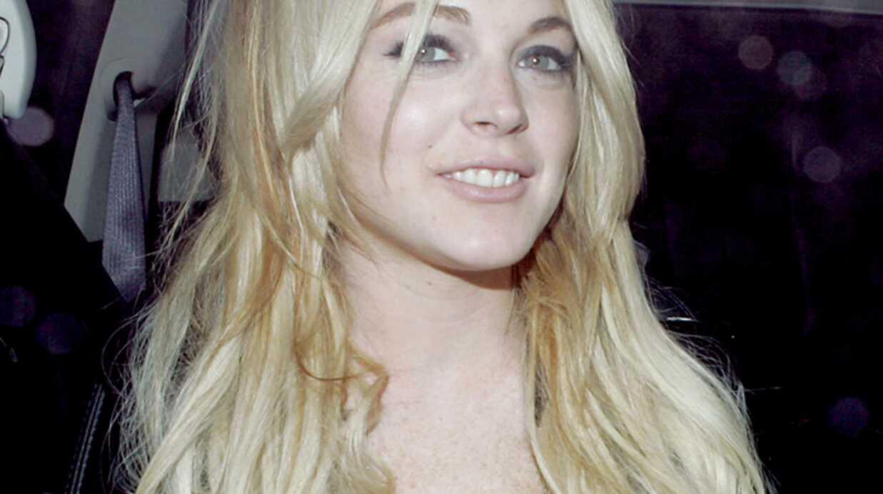 Lindsay Lohan A mourir de rire!