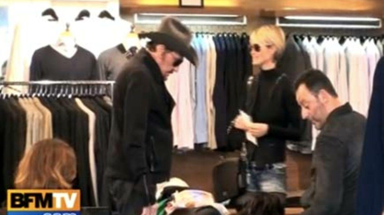 Video: le 31 décembre de Johnny Hallyday à L.A.