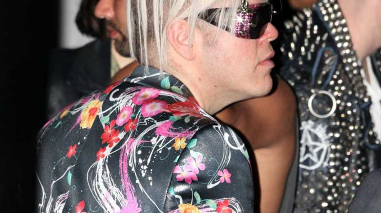 PHOTOS Perez Hilton au concert de Lady Gaga : horrible !