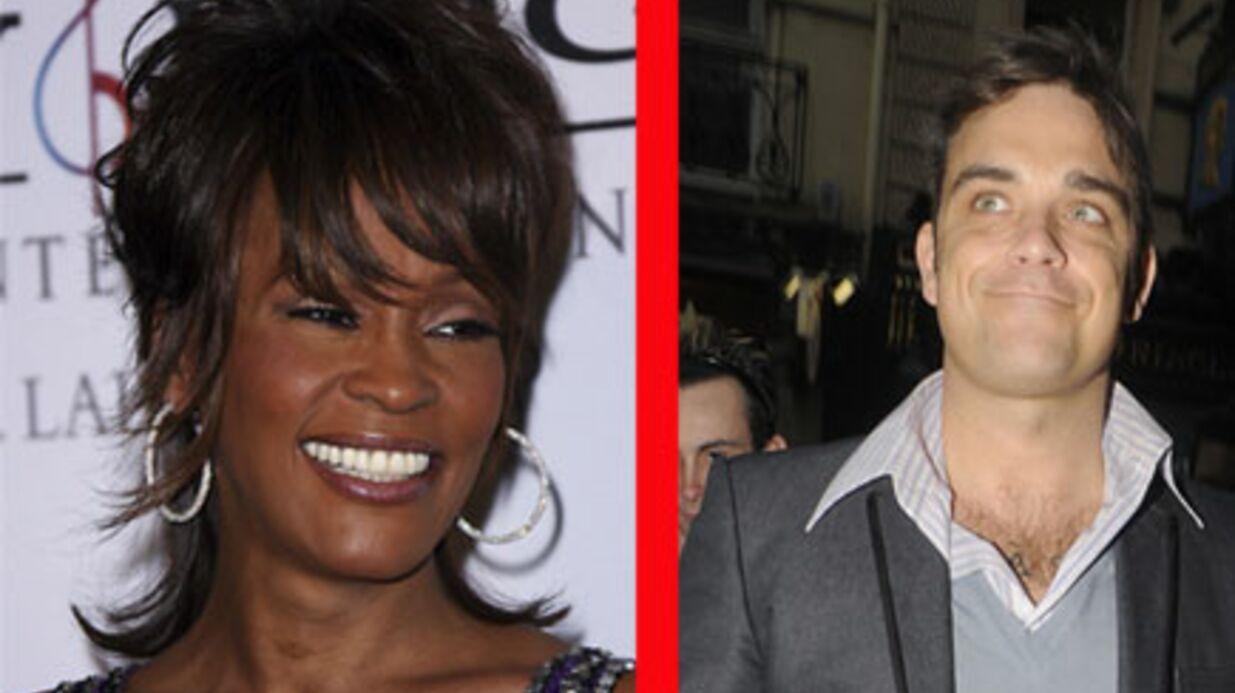 Michael Jackson: remplacé par Robbie Williams et Whitney Houston?