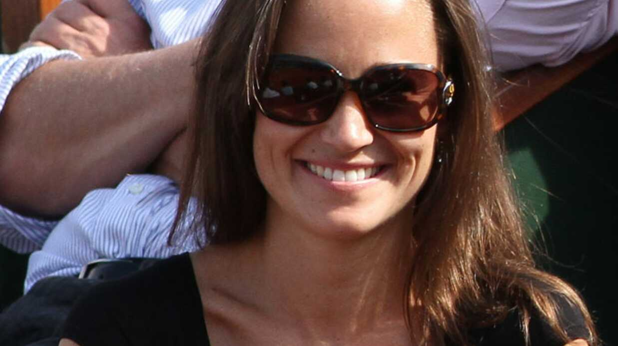 Pippa Middleton: sexy à Roland Garros