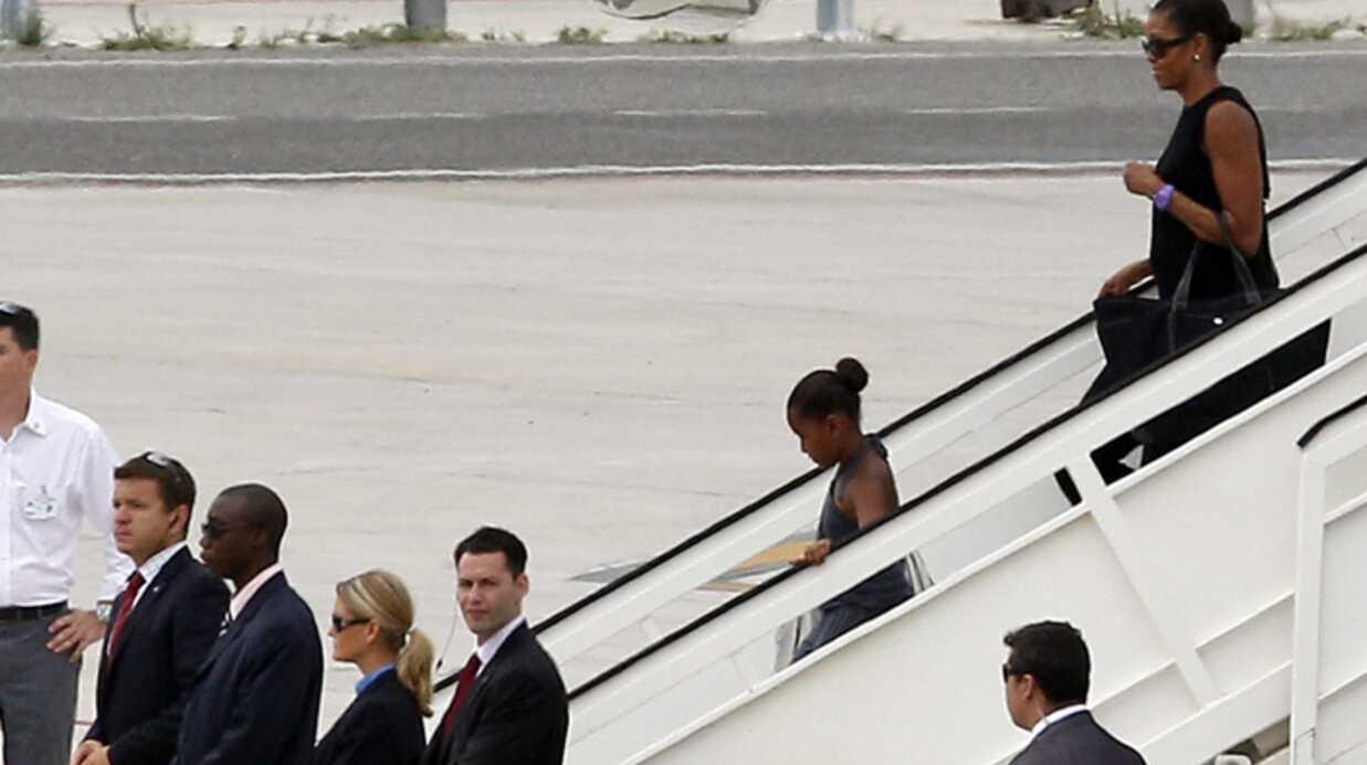 PHOTO: Michelle Obama et sa fille arrivent en Espagne