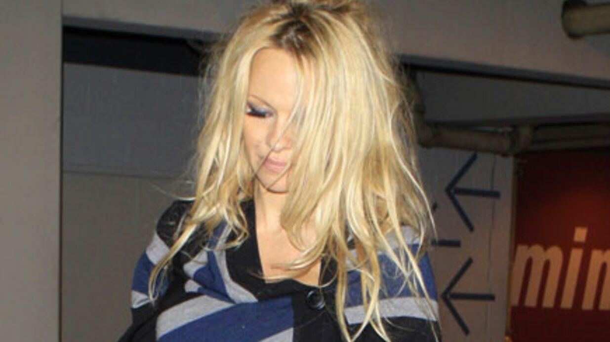 Une déséquilibrée s'introduit chez Pamela Anderson