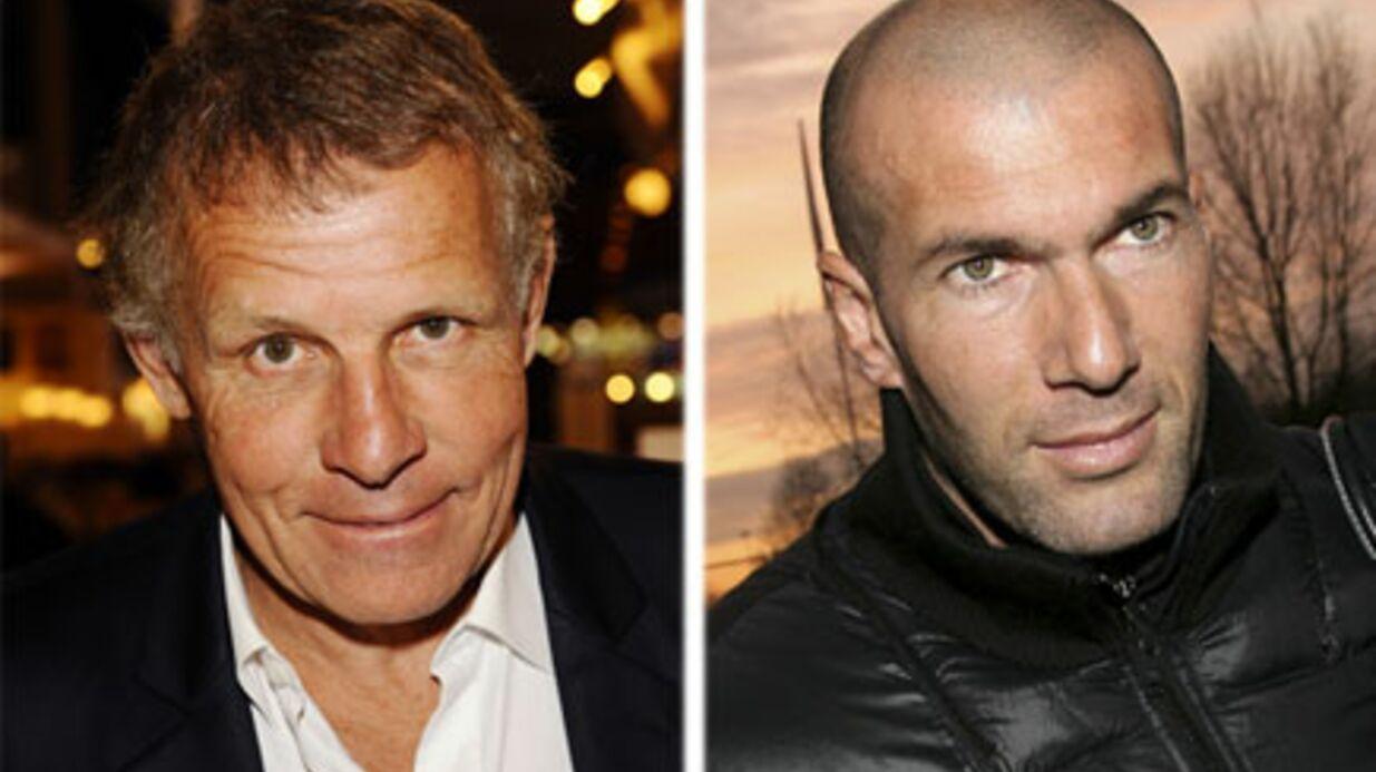 Patrick Poivre d'Arvor: un JT en duo avec Zidane
