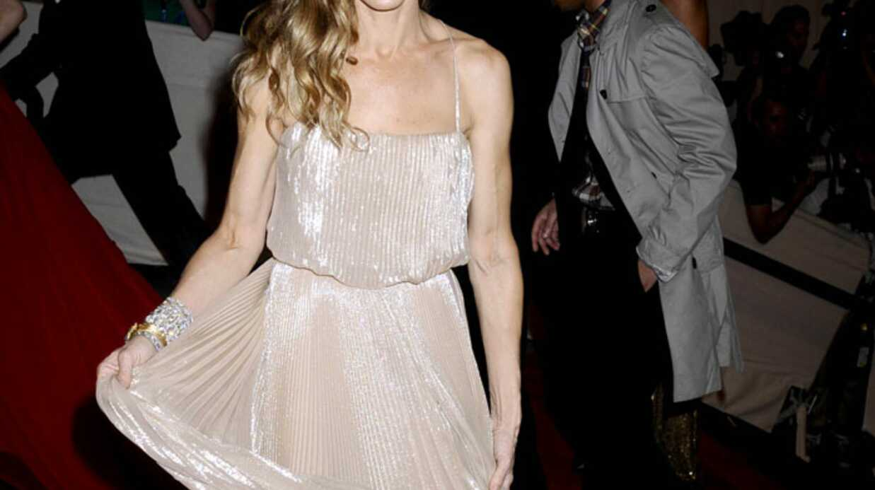 LOOK Sarah Jessica Parker vapo­reuse au Met Ball