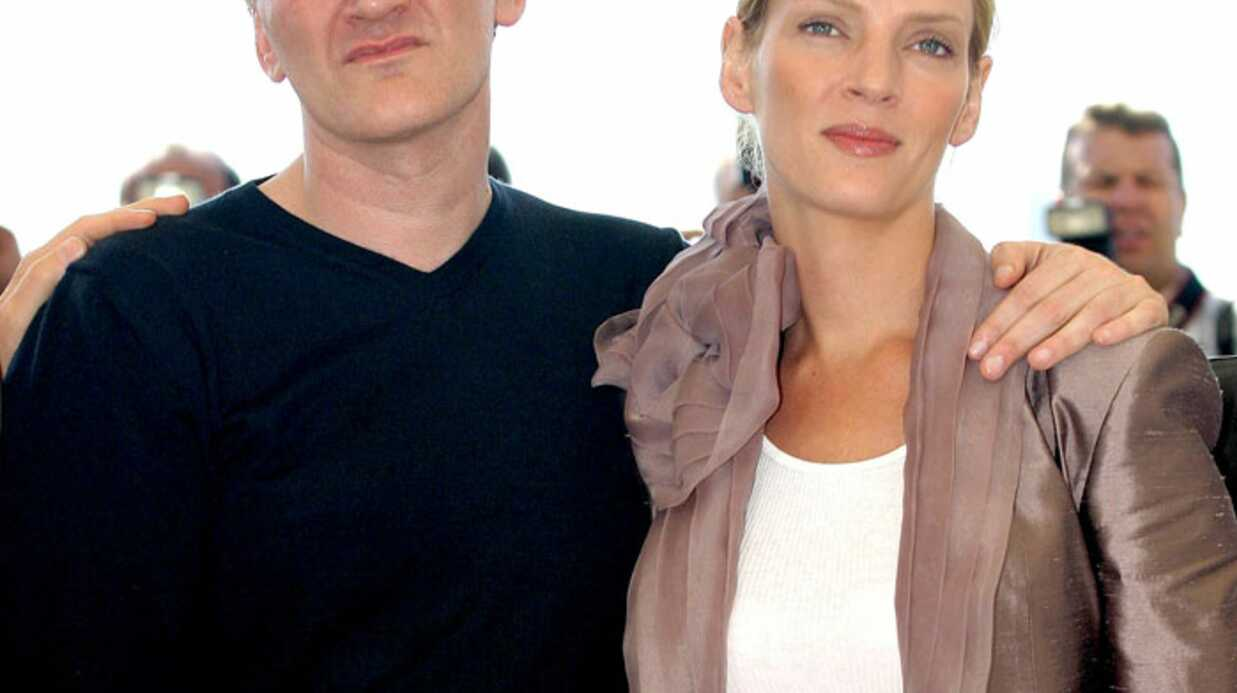 Quentin Tarantino et Uma Thurman pour Kill 3 en 2014