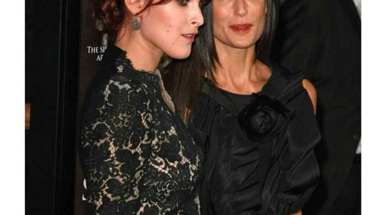 Demi Moore, première fan de sa fille Rumer Willis