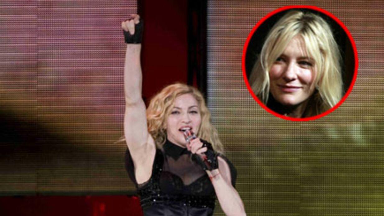 Madonna veut embaucher Cate Blanchett pour son film