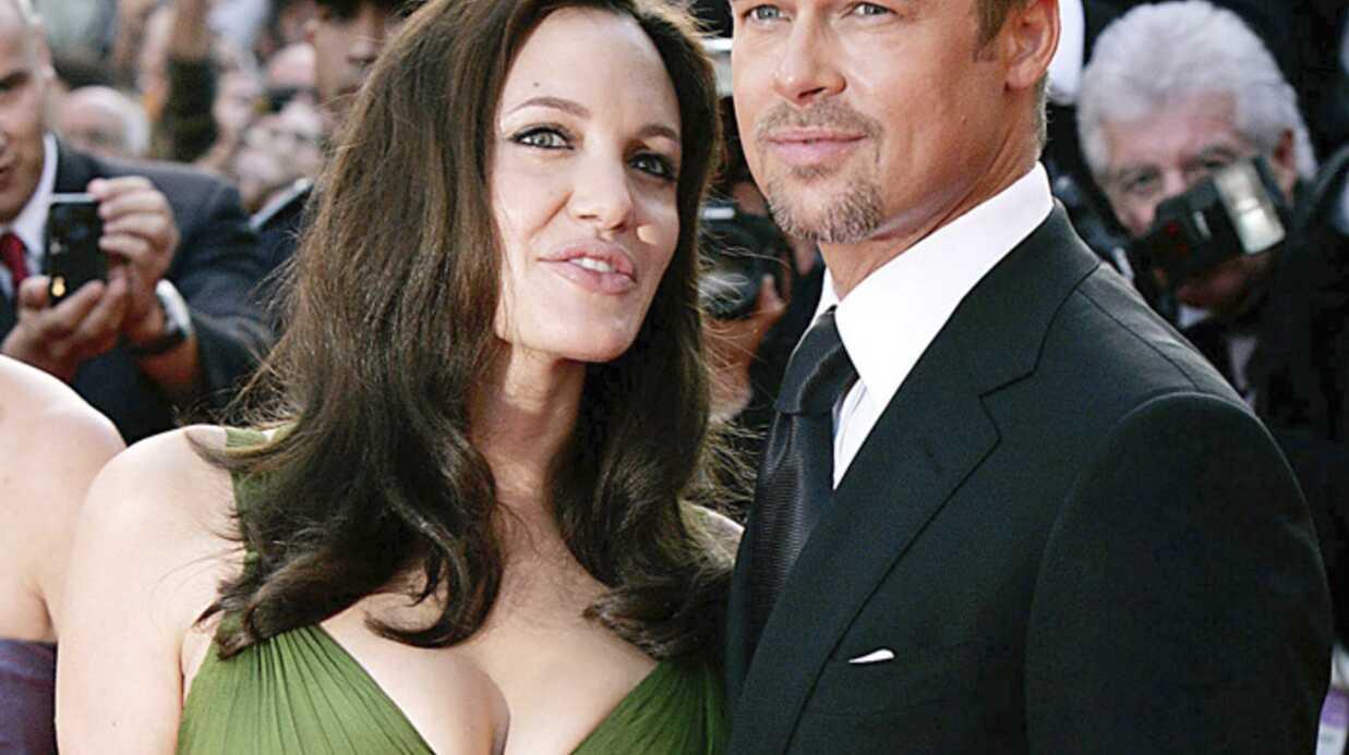 Angelina Jolie et Brad Pitt excités par l'arrivée des jumeaux