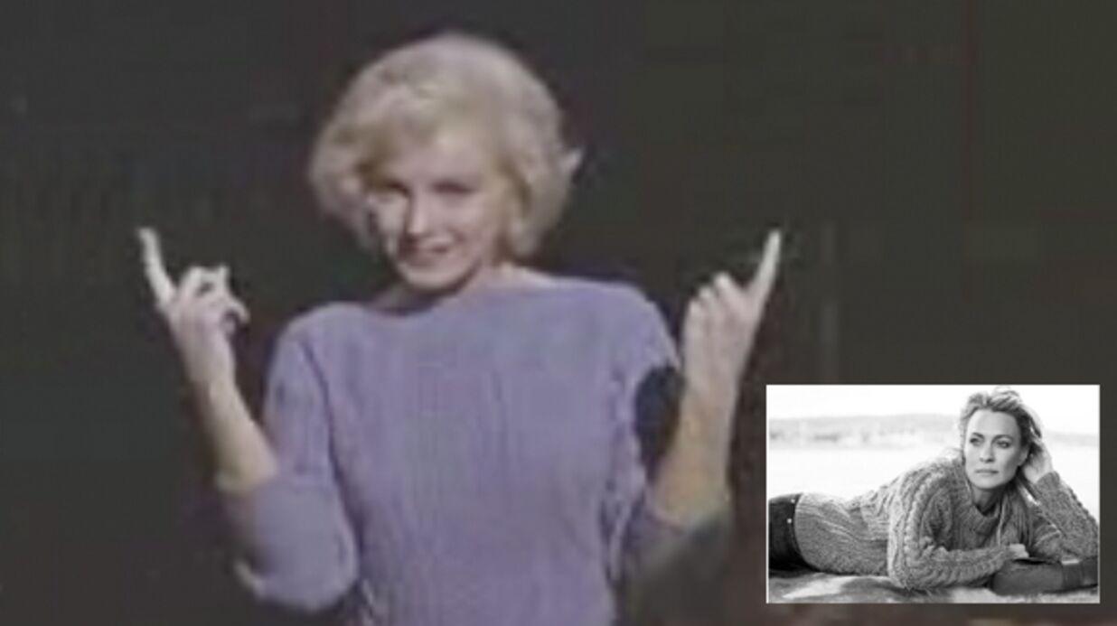 Portez le pull de Marilyn Monroe!