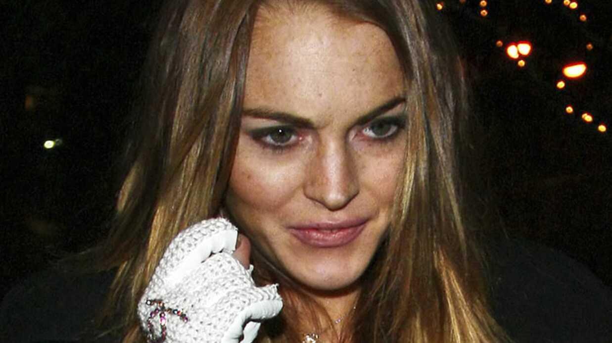 Lindsay Lohan: gros caprice à l'aéroport