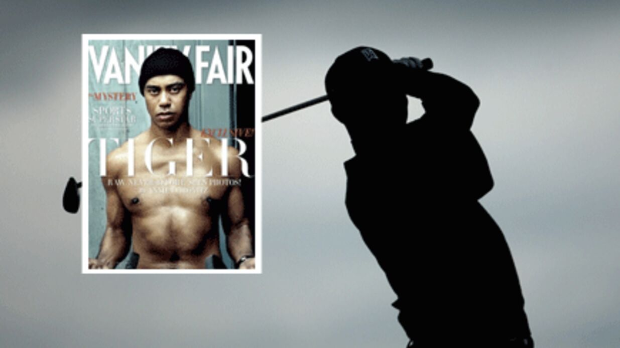 Tiger Woods sexy en Une de Vanity Fair