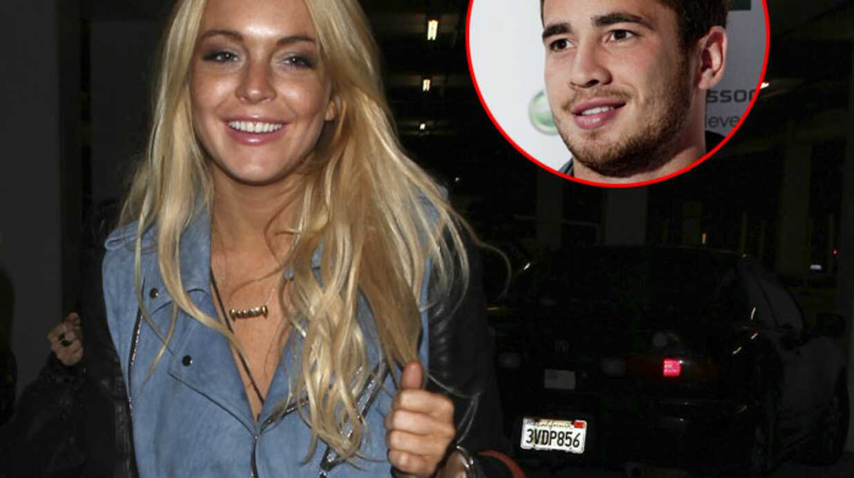 Lindsay Lohan flirterait avec une star anglaise du rugby