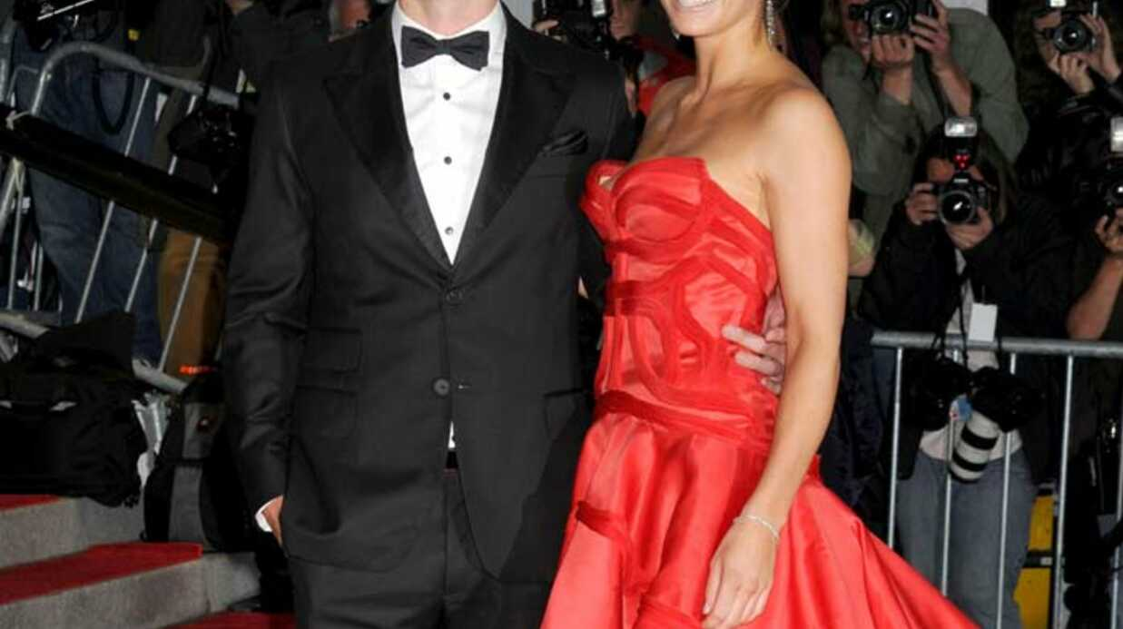 LOOK Justin Timberlake, chic et très fier au bras de Jessica Biel