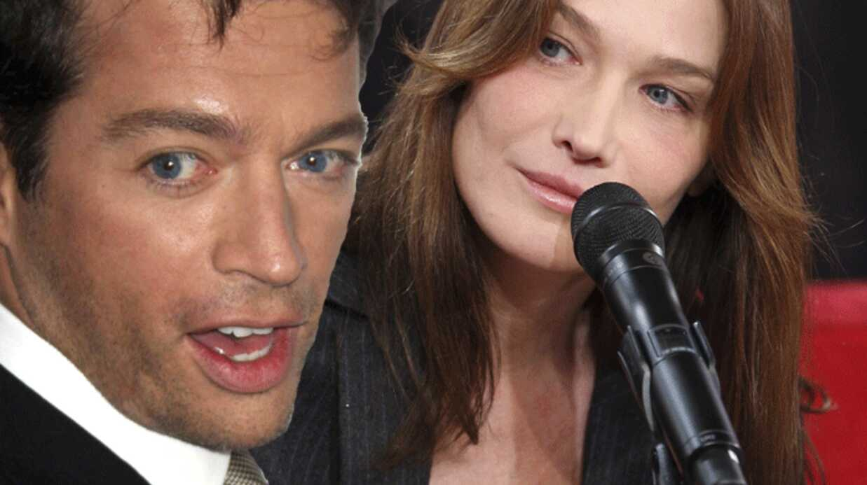 Carla Bruni en duo avec Harry Connick Jr sur Canal+