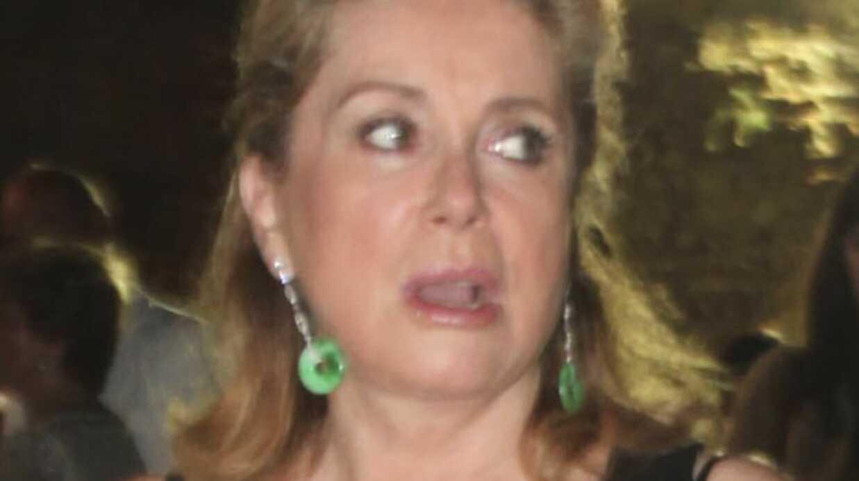 Catherine Deneuve sifflée par le public italien