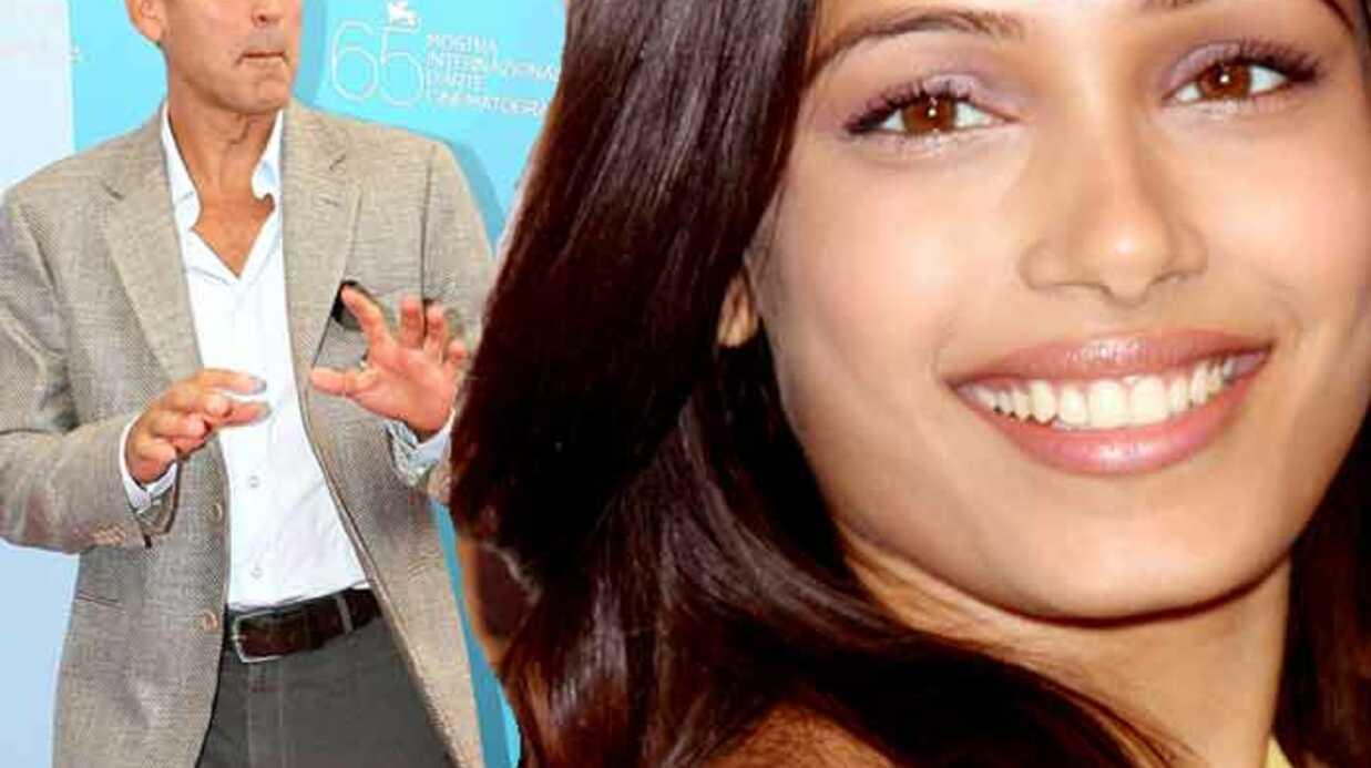 George Clooney amoureux de Freida Pinto?