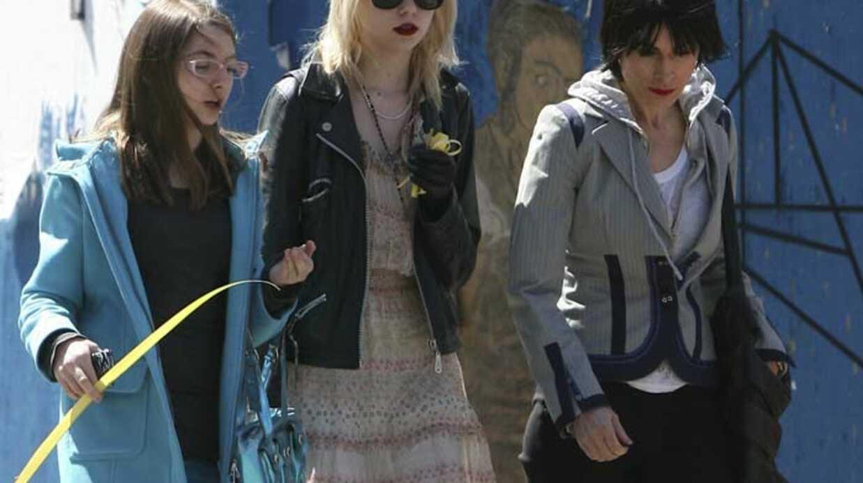 Taylor Momsen en famille à New York