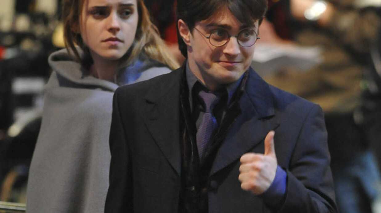 Harry Potter: Daniel Radcliffe pas amoureux d'Emma Watson