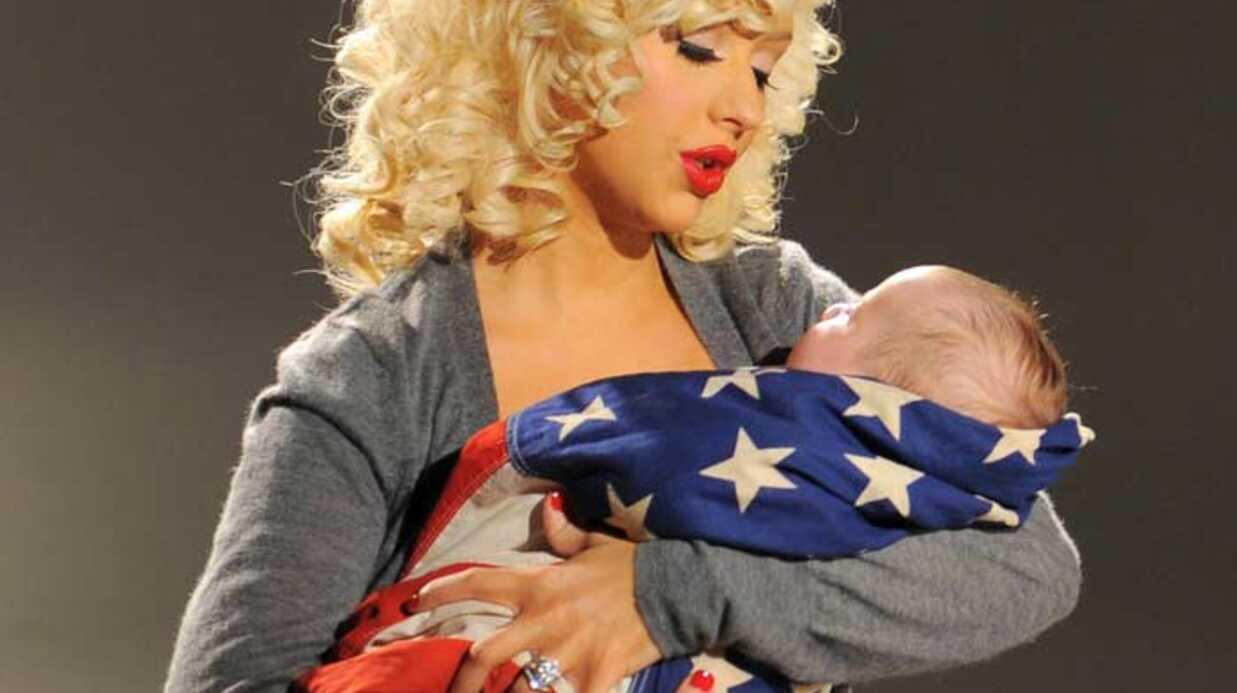 Christina Aguilera Mère militante