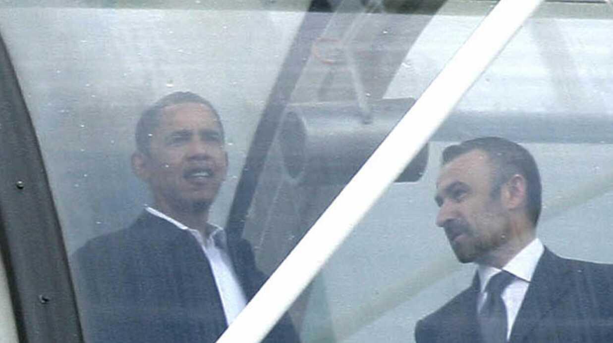 Barack Obama et sa famille à la découverte de Paris