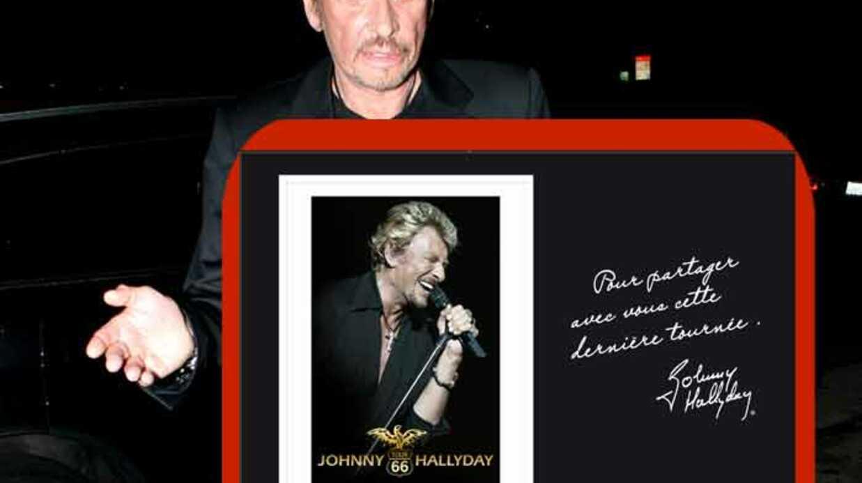 Johnny Hallyday: un timbre spécial pour sa tournée d'adieux