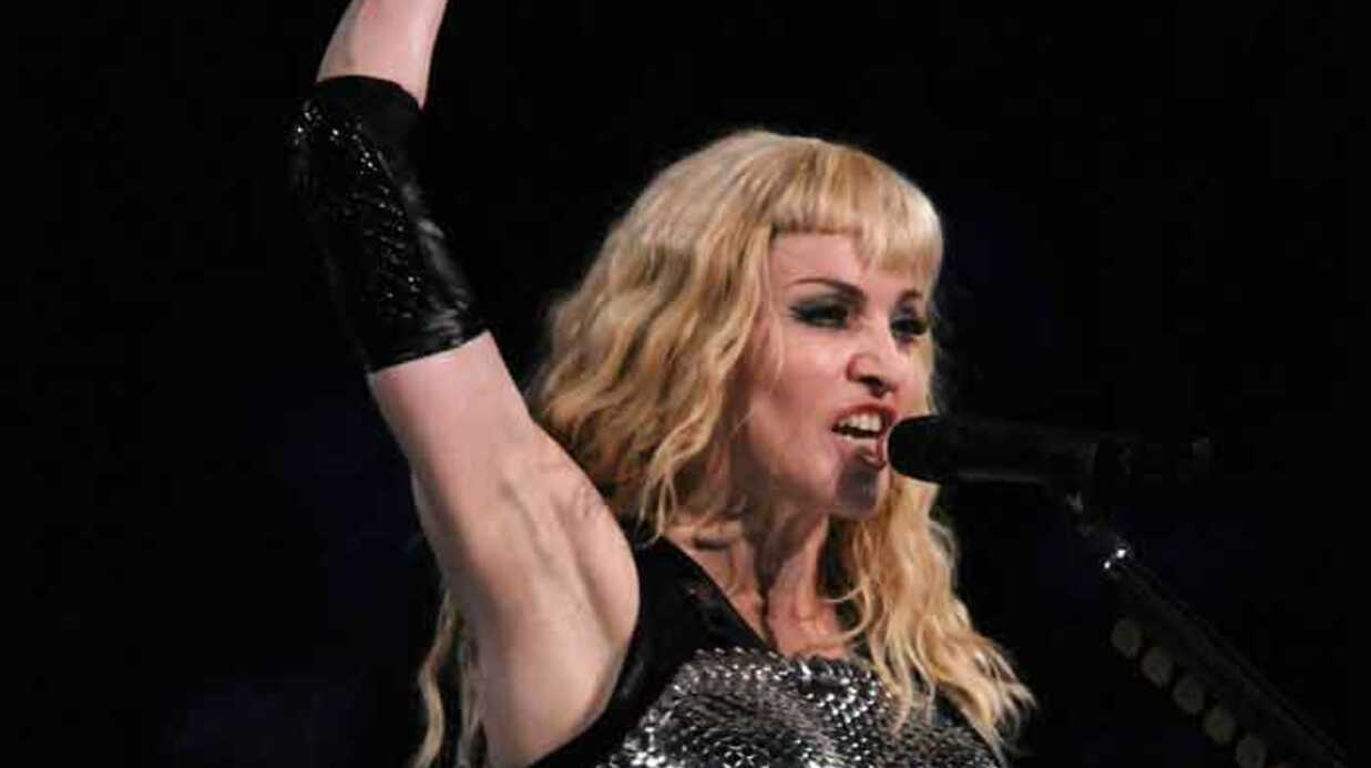 VIDEO Madonna : teaser du DVD de sa tour­née
