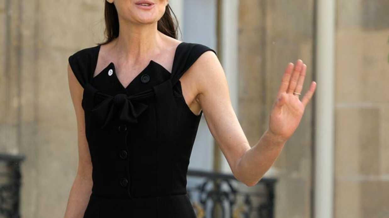 Carla Bruni: sa grossesse inspire les publicitaires