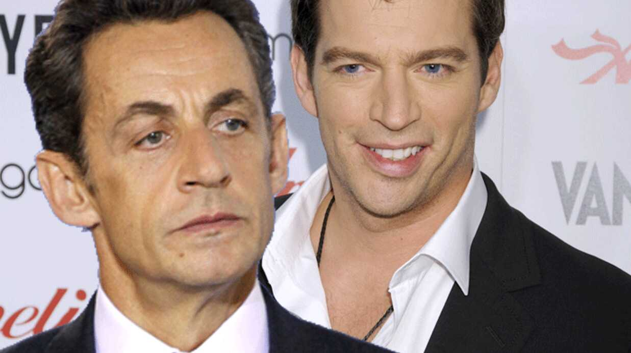 Nico­las Sarkozy a rencon­tré Harry Connick jr