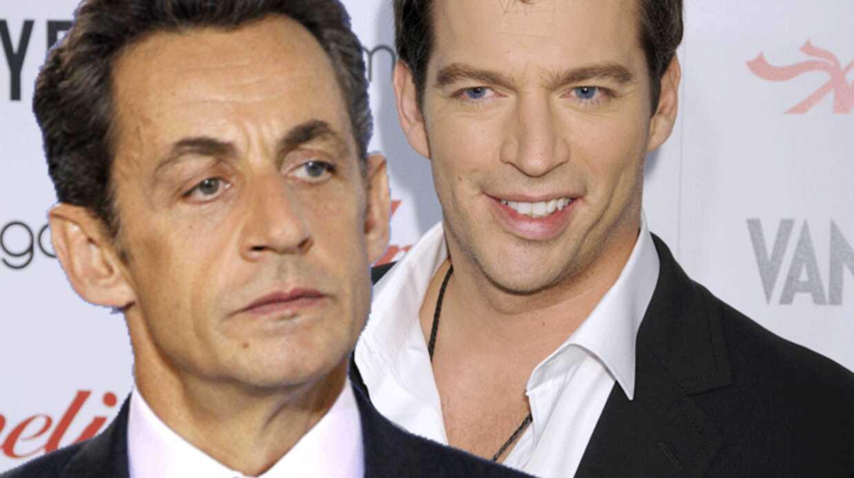 Nicolas Sarkozy a rencontré Harry Connick jr