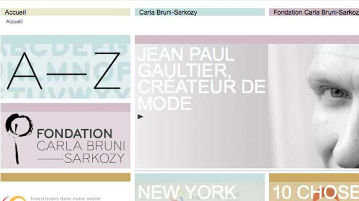 Le site de Carla Bruni accessible après quelques problèmes