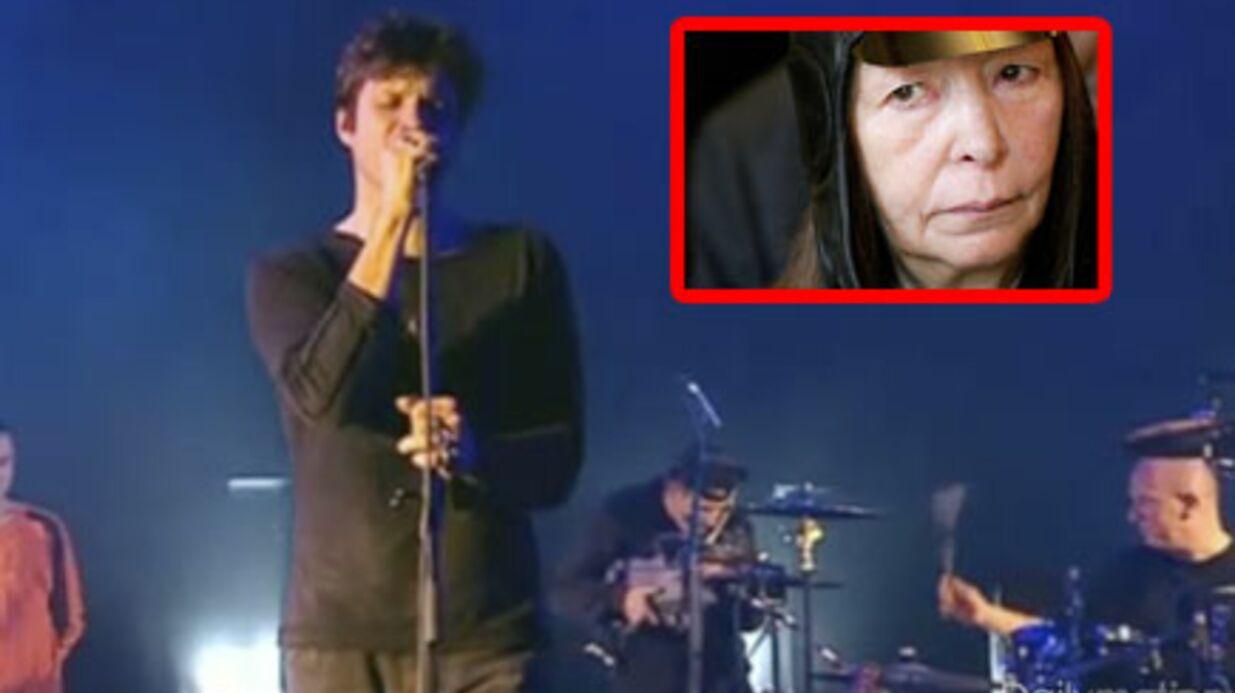 VIDEO Bertrand Cantat en studio avec Brigitte Fontaine