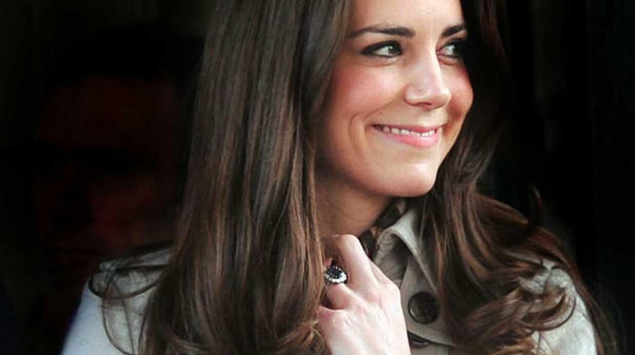 Kate Middleton: la cigarette pour chasser le stress?