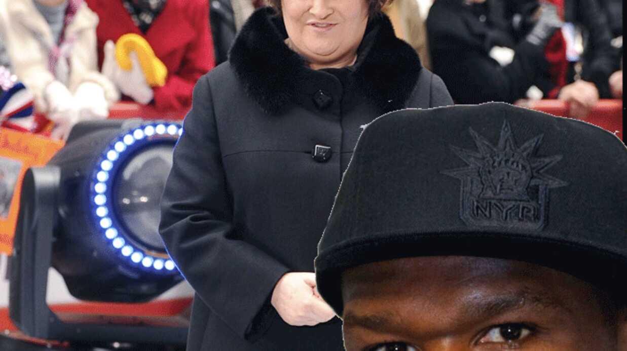 50 Cent: un duo avec Susan Boyle