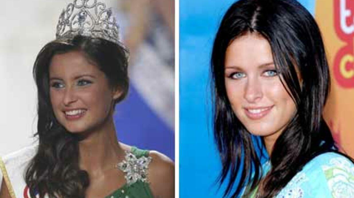 Miss France: Malika Ménard sosie de la soeur de Paris Hilton