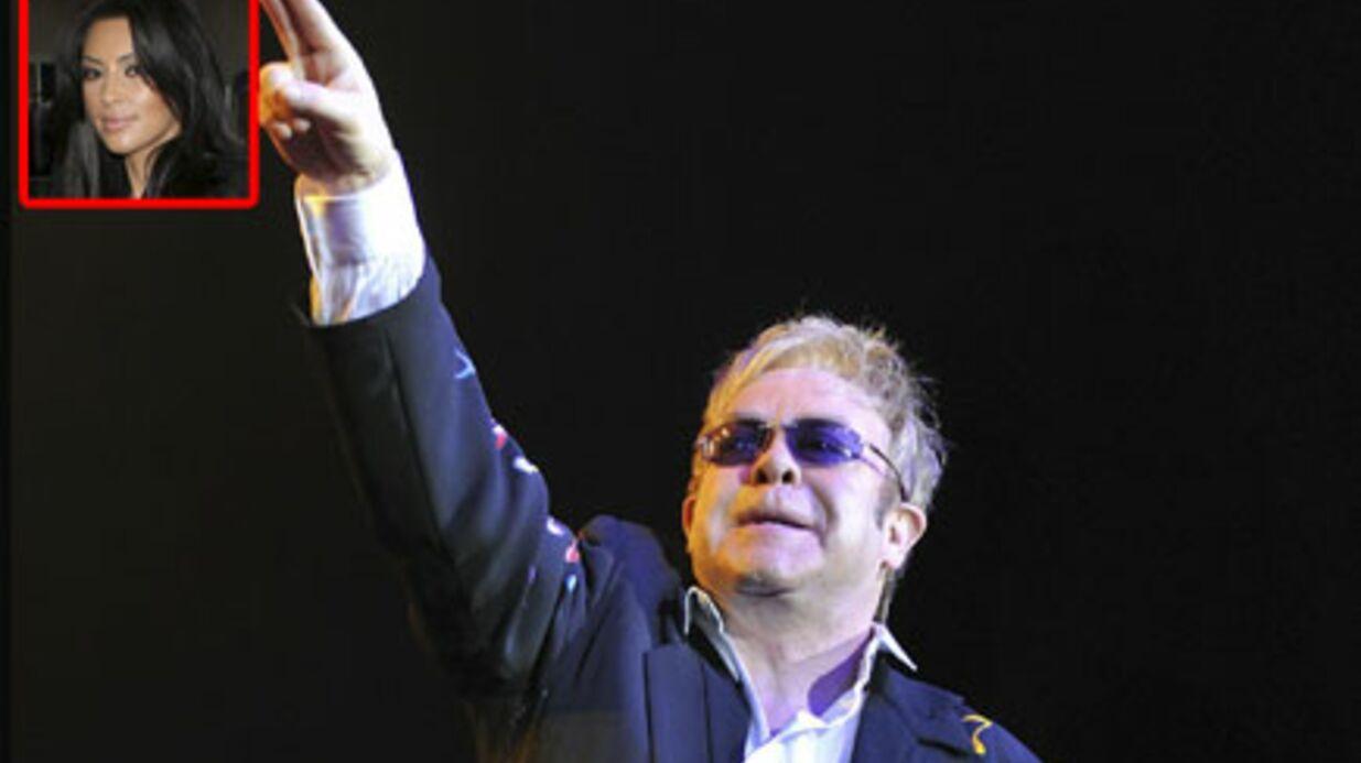Elton John insulte violemment Kim Kardashian