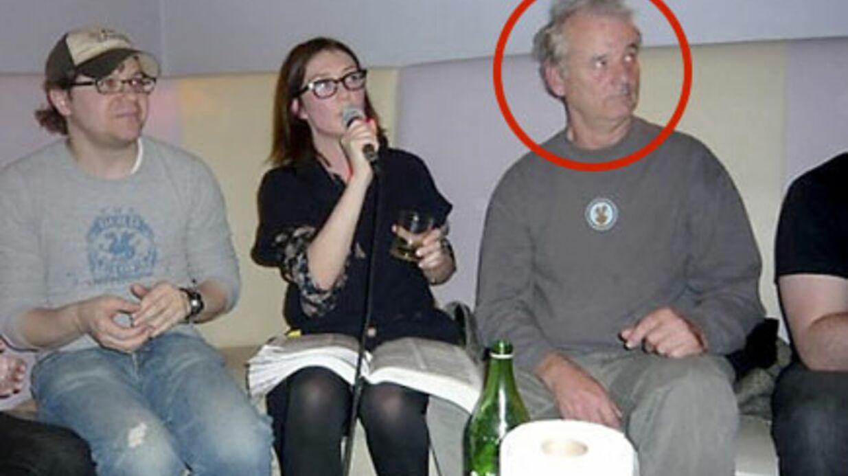 Bill Murray adore squatter les soirées karaoké
